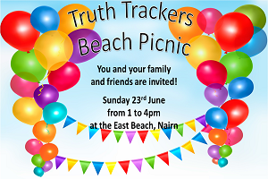 Truth Trackers Beach Picnic