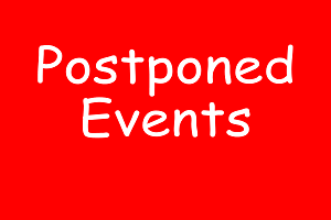 Coronavirus - Events postponed